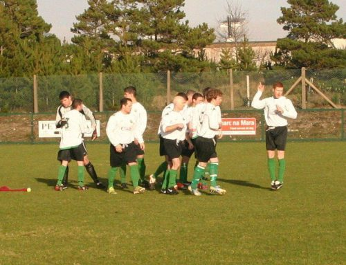 St Catherines 2 – 2 Gweedore Celtic